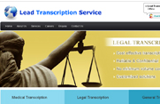 Lead Transcription Service